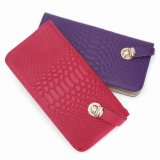 Real Leather Purse Woman Leather Wallet (SR-131235)