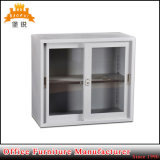 Jas-016 Half Height Sliding Glass Door Office Metal Storage Cabinet