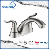 Modern Family Double Handle Bathroom Water Faucet (AF0093-6BN)