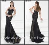 Black Trarik Prom Party Dress Lace Tulle Evening Dress E15119