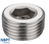 in Hex Plug of Pneumatic Fittings/Jdn