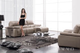 High Quality Chaise Leather Sofa (917)