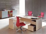 Office Furniture Executive Table with Side Cabinet Return Desk (HF-AO02)
