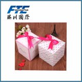 Sweet Cardboard Wholesale Cosmetic Gift Paper Box for Christmas
