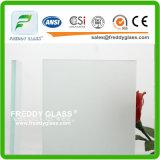 19mm Ultra Clear Acid Glass/ Acid Etched Glass/Frost Glass/Sandblasting Glass