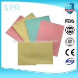 Wave Pattern Nonwoven Cleaning Dry Wipes