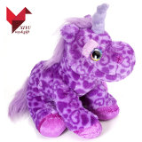 Soft Plush Purple Colorful Toy Unicorn Gifts