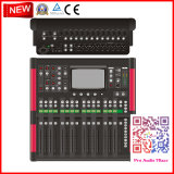 20-Channel Audio Mixer with 12 Mic, 16 Motorized Faders, iPad Controllability, and Touchscreen