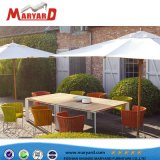 Modern Outdoor Furniture Garden Dining Table Set Dining Table Rope Chair Set