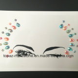 New Arrival Decorative Temporary Star Diamond Face Sticker for Party (S028)