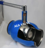 Bw End Fully Welded Natural Gas Ball Valve