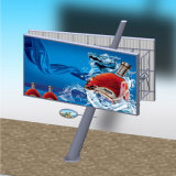 Outdoor Furniture Highway Double Sided Inclined Column Billboard