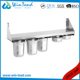Latest Design Stainless Steel Kitchen Wall-Hung Shelf for Gn 1/6 Pan