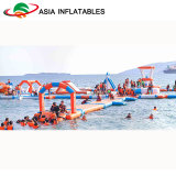 Open Inflatable Floating Water Park, Water Games Park Factory Supply
