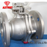 Ss JIS Flanged Ball Valve with ISO5211 Direct Mounting Pad