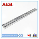2017 Furniture Customized Cold Rolled Steel Three Knots Linear for Aeb3504-300mm Full Extension Soft-Closing Drawer Slide