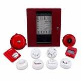 Hot Sale Conventional Fire Alarm Panel with Smoke Detector