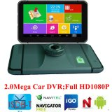 "Hot Sale 7.0"" Android HD1080p Car Camera with GPS WiFi; G-Sensor; WDR; Night Vision Function DVR-7029"