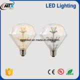 D95 diamond style LED lighting bulb PVC/Glass
