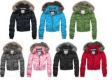 Warm Thick Big Fur Collar Down Jacket Outer Wear Winter