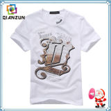 Pure White T Shirt with Print Logo