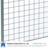 ISO9001 Safety Wire Mesh Security Fire Rated Glass