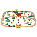 2015 Hot Railway Wood Train for Kids, Children Educational Toy (WJ276067)