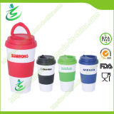 16 Oz Promotional BPA-Free Coffee Cups with Handle