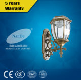 Popular High Quailry Rechargeable LED Plastic Solar Wall Light