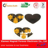 Custom Various Shaped Fashion Rubber Magnetic Puzzle Toy