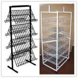 Folding Retail Store Floor Standing Display Metal Racks