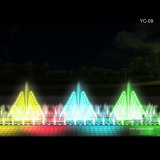 Digital Oblong Musical Water Fountain