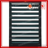 Color Painted Aluminum Louvered Windows