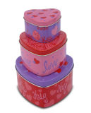 Heart Shape Tin Box (MN0001)