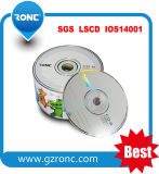 Customized Logo Blank CD-R RW 50PCS Shrinkwrap/Cake Box