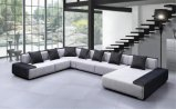 Modern European Design Large U Shape Fabric Sofa (HC573)