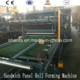 Ce Approved EPS and Rock Wool Sandwich Panel Machine