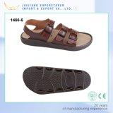Casual Men Leather Sandals, Leisure Summer Flat Sandal