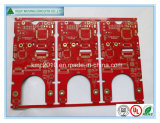 Double-Sided Red Solder Mask Immersion. Gold PCB