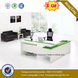 White Color Electric Wire Cord System Executive Office Table (HX-5DE528)