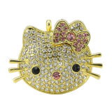 Jewellry USB Hello Kitty Promotion Gift Pen Drive Memory Stick