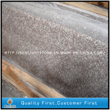 Polished Full Bullnose G664 Pink Granite Countertops for Kitchen & Bathroom