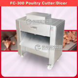 Poultry Cutting Cube Dicing Machine with Stainless Steel 304