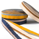 The Polyester Check Ribbon for Bags and Garments