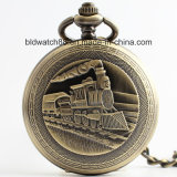 Hot Sale Antique Analog Unisex Pocket Watch with Chain
