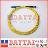 Single Mode Fiber Cable Sc-FC Simplex Patch Cord