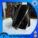 HSS Cylindrical Milling Cutter with Tialn Coating