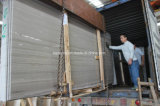 China Athens Grey Wooden Marble Slabs