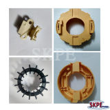 Motor Fan Motor End Cover Motor Parts with Pet Plastic Material