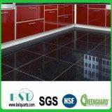 Black Sparkle Floor Kitchen Tile Quartz Stone
